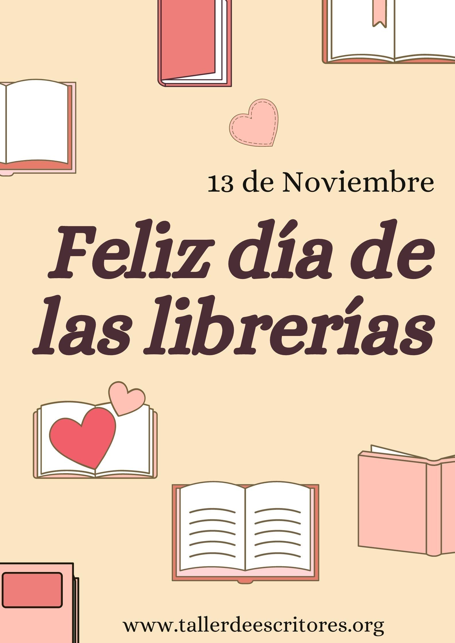 Conmemorar el día de las librerías